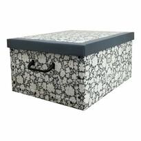 Compactor Pudełko do przechowywania składane Vicky, 50 x 40 x 25 cm
