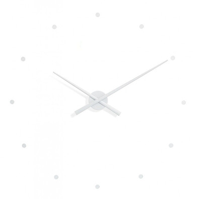 Nomon OJ nástěnné hodiny, bílá
