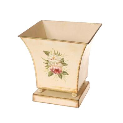 Obal na květináč kovový Loira, 23 cm