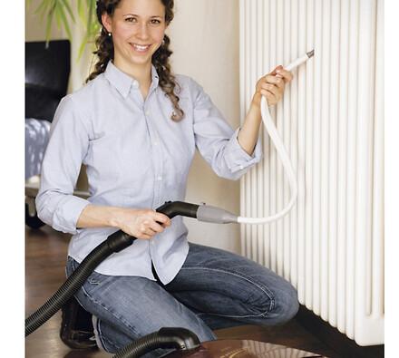 Čistící radiátorů