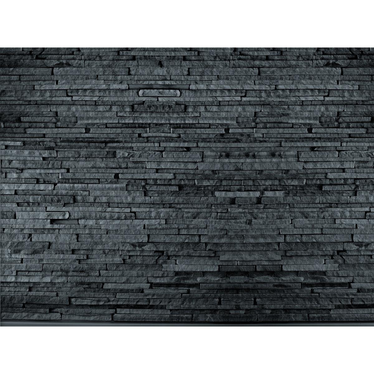 Fototapeta lámaný kameň černá 315 x 232 cm, Wall