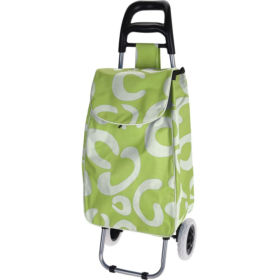 Nákupní taška na kolečkách Trolley, zelená