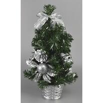 Vánoční stromek Vestire stříbrná, 35 cm
