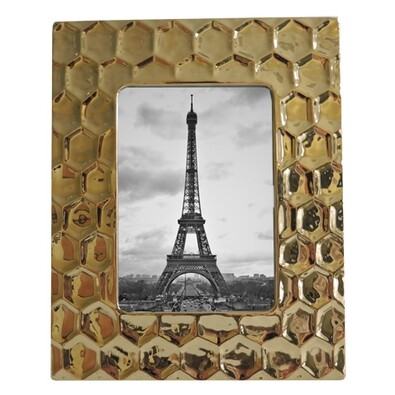 Keramický rámeček zlatá
