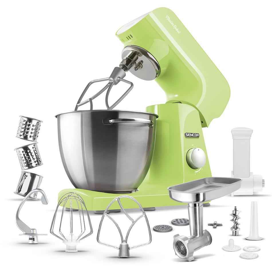 Sencor STM 47GG kuchynský robot, zelená