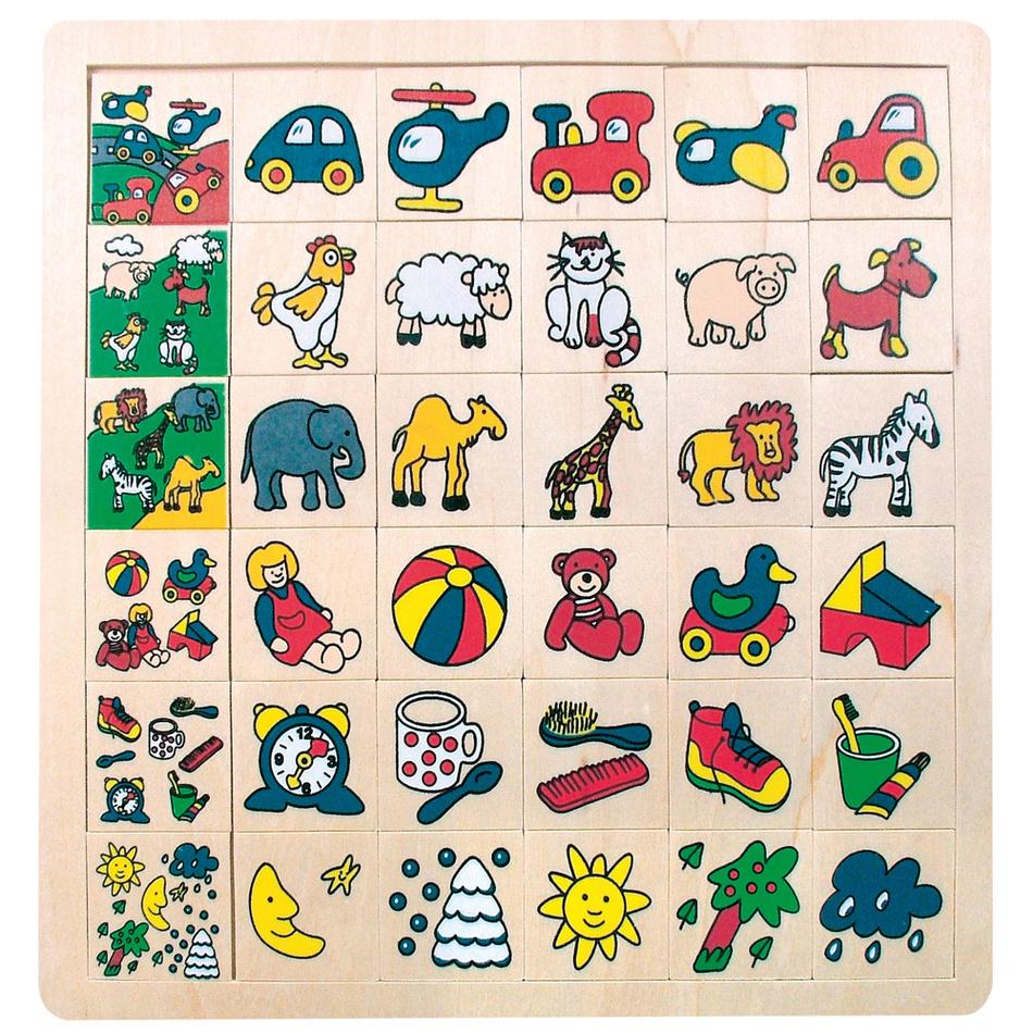 Joc logic Bino Unde-i locul imagine 2021 e4home.ro