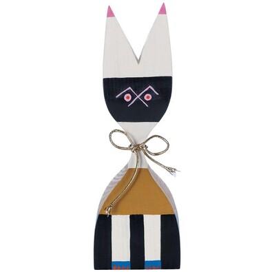 Dřevěná panenka GIR 20,5 cm č. 9, barevná