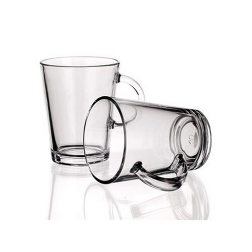 VETRO-PLUS Sada skleněných hrnků TRIBECA 400 ml, 2 ks
