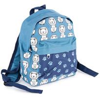 Dětský batoh Lvíček modrá, 21 x 11 x 27 cm