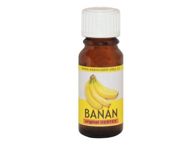 Vonný olej s vôňou čerstvého banánu, Rentex