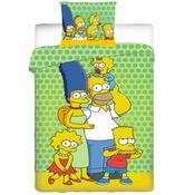 Dětské bavlněné povlečení The Simpsons family 2014, 140 x 200 cm, 70 x 90 cm