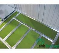 LanitPlast Podlahová základna k domku LanitStorage 8 x 8