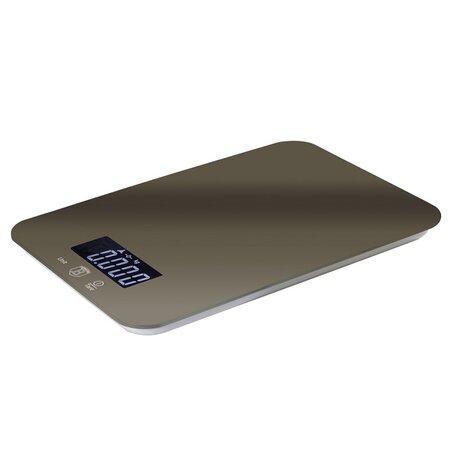 Berlinger Haus Kuchyňská váha Carbon Metallic Line, 5 kg