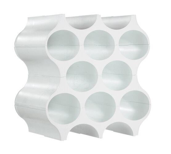 Suport de sticle SET-UP, alb