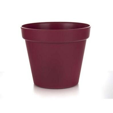 Květináč Patio Elite Burgund sada 3 ks