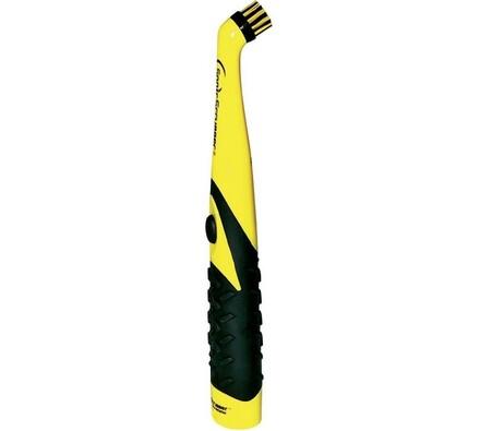 Elektrický kartáč na čištění, Sonic Scrubber, černá + žlutá