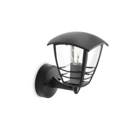 Philips Creek Venkovní svítidlo 23,5 cm, černá
