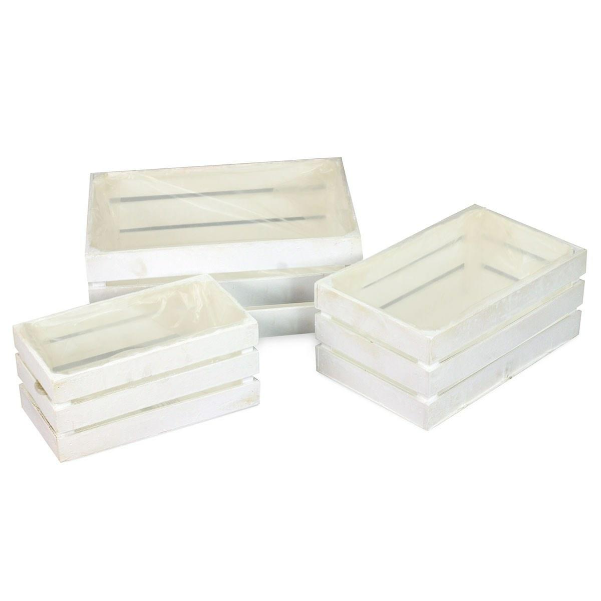 Sada dekoračních úložných boxů Manresa, 3 ks