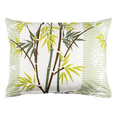 Povlak na polštářek Bamboo zelená, 45 x 60 cm