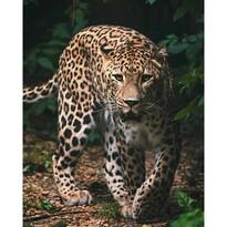Koc dziecięcy Leopard green, 120 x 150 cm