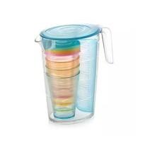 Tescoma Džbán s pohármi myDRINK 2,5 l, modrá