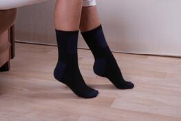 Thermo ponožky, bílá, 23 - 25