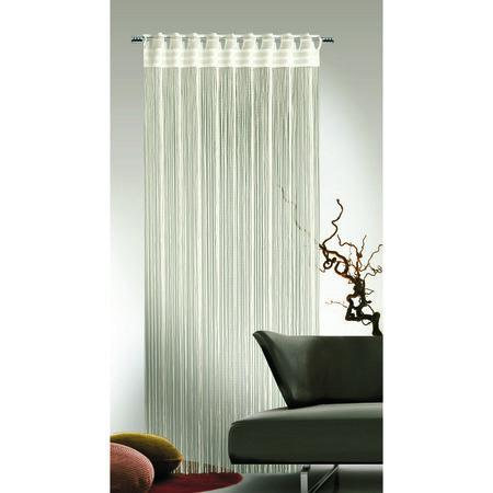 Albani Cord zsinóros függöny, krémszínű, 90 x 245 cm