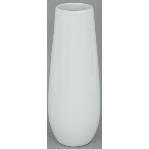 Keramická váza Arnes bílá, 30 x 11,5 cm
