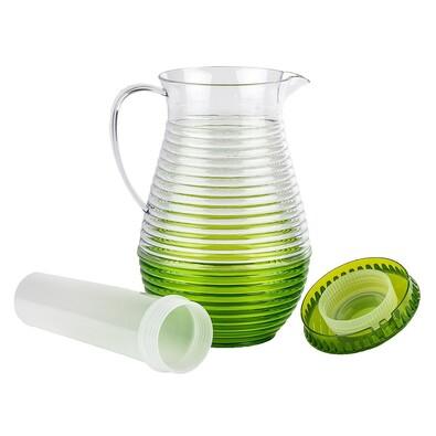 Džbán s chladící vložkou zelená