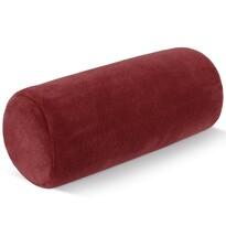 Poduszka pod kark Wałek mikro winny, 15 x 35 cm