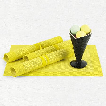 Prestieranie žlté,40 x 30 cm, sada 4 ks