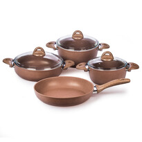 Set oale 4Home Granite Brown, 7 piese