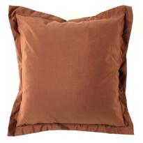 Obliečka na vankúšik Elle hnedá, 45 x 45 cm