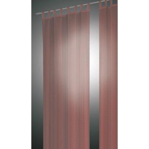 Albani Záves David světle hnedá, 140 x 240 cm, sada 2 ks, 140 x 240 cm