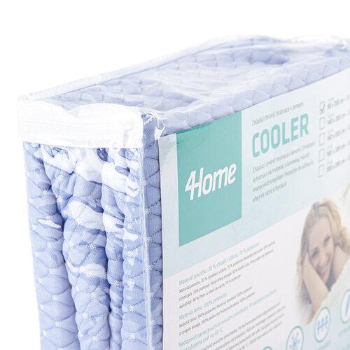 4Home Chladicí nepropustný chránič matrace s lemem Cooler, 90 x 200 cm + 30 cm