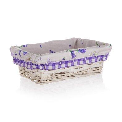 Home Decor Proutěný košík Lavender, 21 x 16 x 6,5 cm