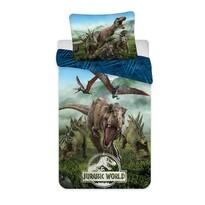 Pościel bawełniana Jurassic world Forest, 140 x 200 cm, 70 x 90 cm