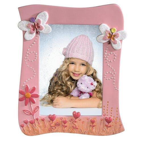 Rámček Marie, 10x15 cm, ružový