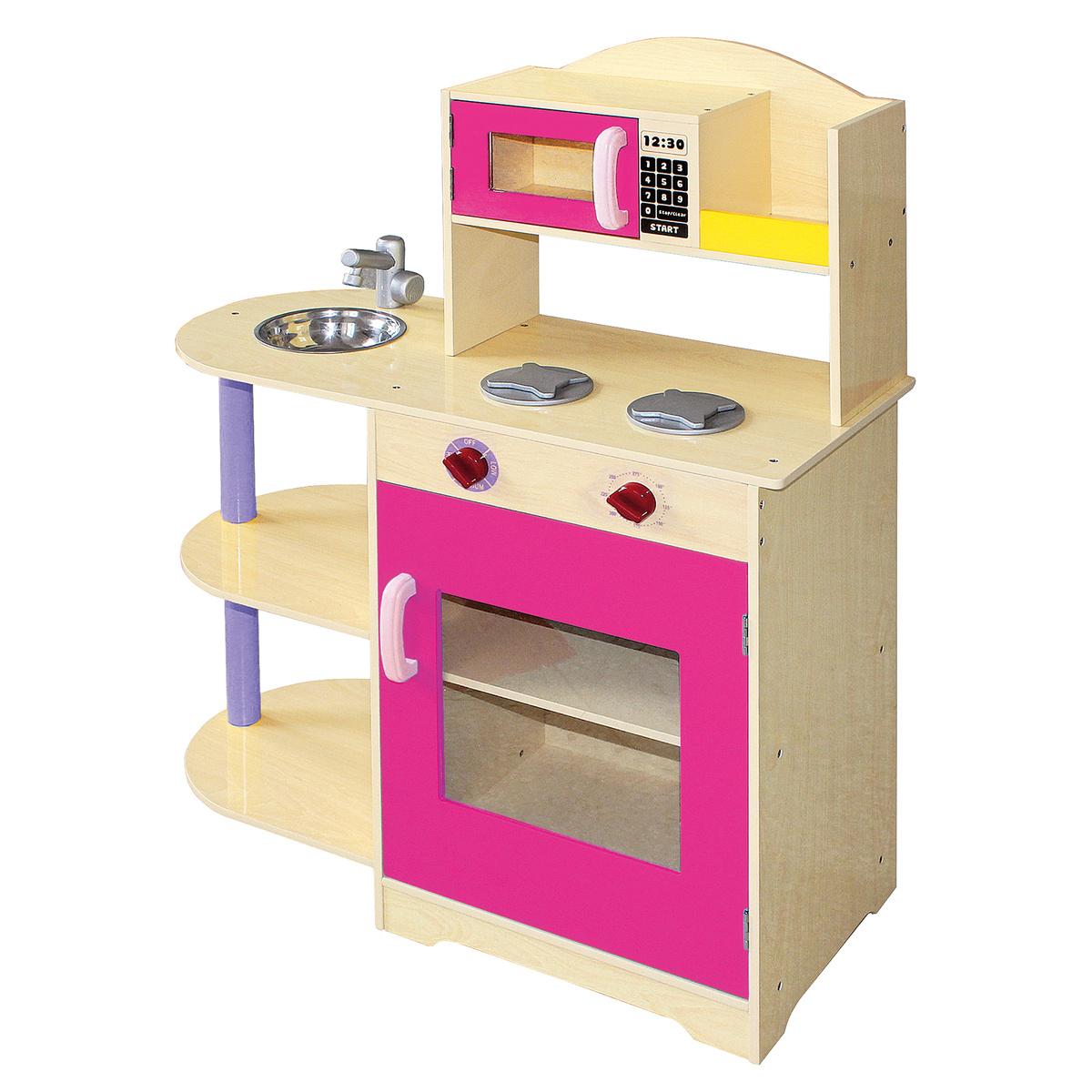 Bino Detská kuchynka s mikrovlnnou rúrou