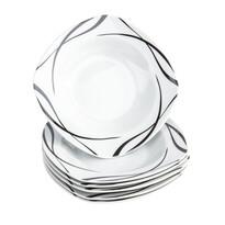Mäser Oslo 6 részes mély tányér készlet, 21,5 cm