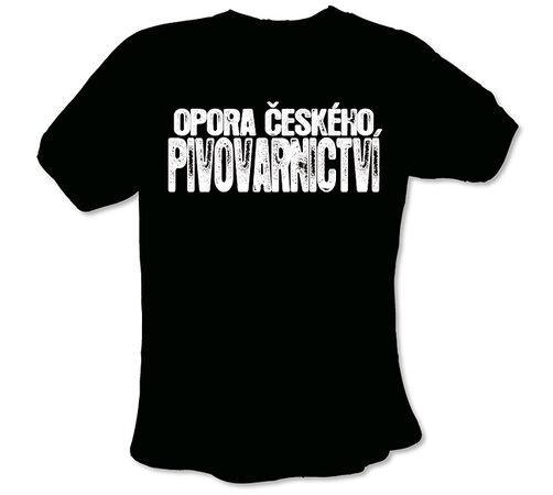 """Pánské tričko s vtipným potiskem, """"""""Opora českého , XL"""