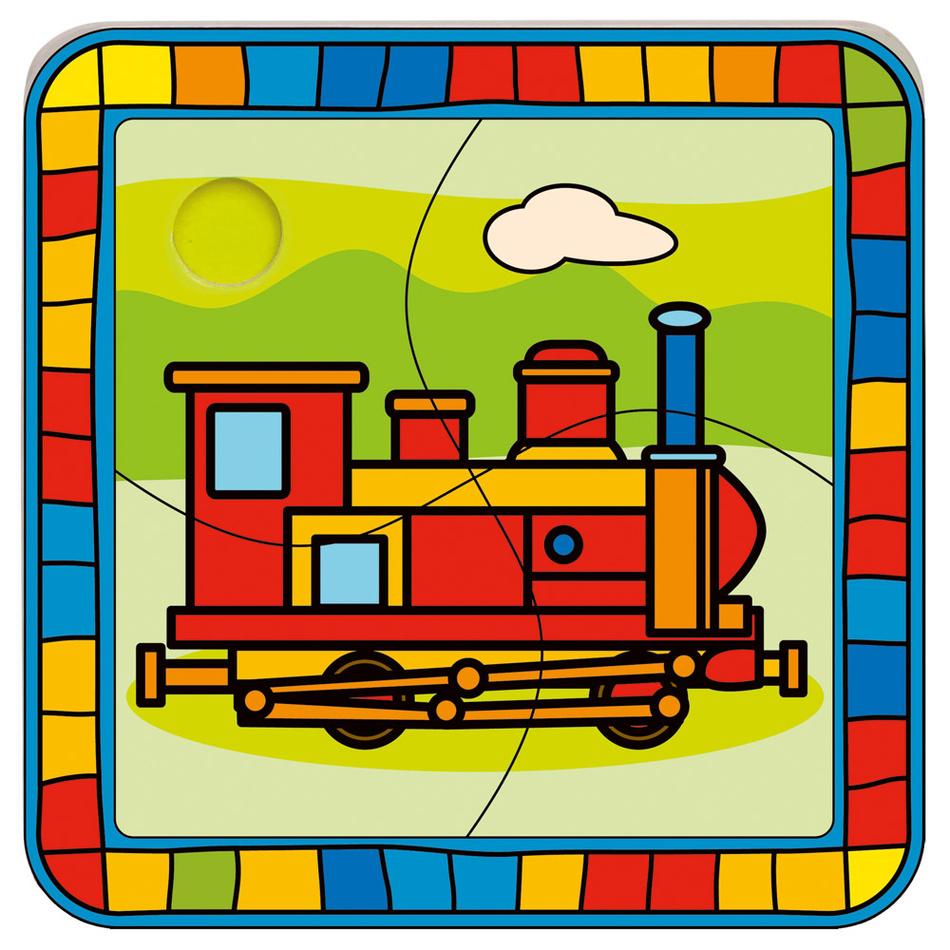 Bino Puzzle lokomotiva