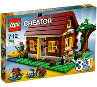 Lego Creator Srub, vícebarevná