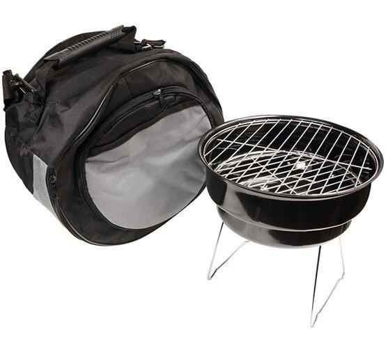 BBQ kemping gril + chladící taška