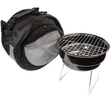BBQ camping grillsütő hűtőtáskával