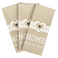 4Home Sweet Home törlőruha, 45 x 70 cm, 3 db-os szett