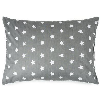 4Home Poszewka na poduszkę Stars szary, 50 x 70 cm