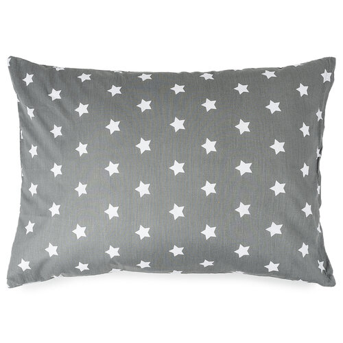 4Home Povlak na polštářek Stars šedá, 50 x 70 cm