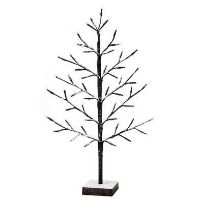Svíticí LED stromek Pino, hnědá