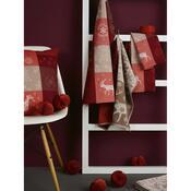 Şervete de bucătărie Sander Etile du Nord, roşu, 50 x 70 cm